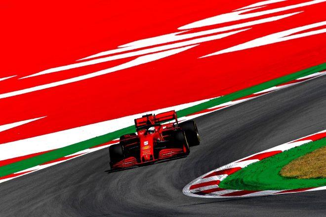 2020年F1第6戦スペインGP セバスチャン・ベッテル(フェラーリ)
