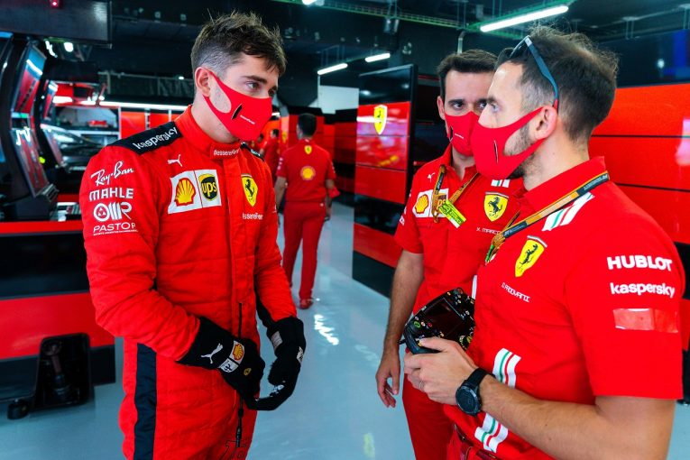F1 | ルクレール「予想以上に好調。予選でかなりいい結果を出せるかも」フェラーリ【F1第6戦金曜】