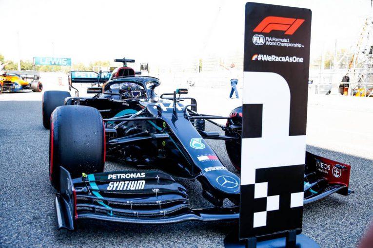 F1 | ハミルトンがPP獲得、メルセデスが1-2で予選を制す。フェルスタッペンは0.7秒差の3番手【F1第6戦予選】