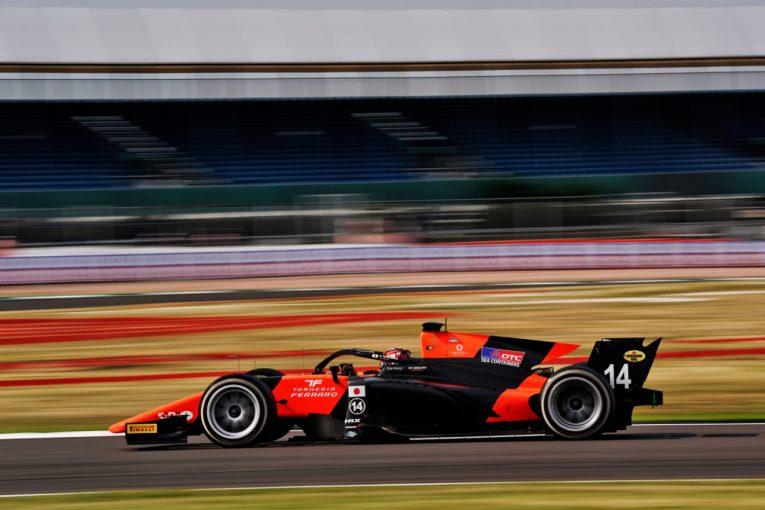 海外レース他 | 【速報】松下信治が17台抜きで今季初優勝/FIA-F2第6戦スペイン レース1