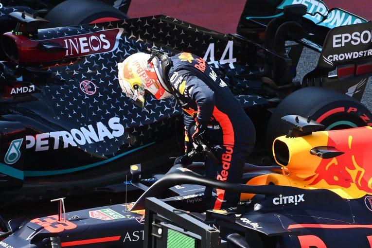 F1 | フェルスタッペン「3番手の席が年間予約されているみたい…でも諦めてないよ」レッドブル・ホンダ【F1第6戦予選】