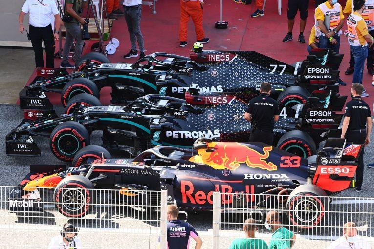 F1   レッドブル代表「タイヤの面では今年一番過酷なレース。メルセデスといい戦いをしたい」【F1第6戦予選】