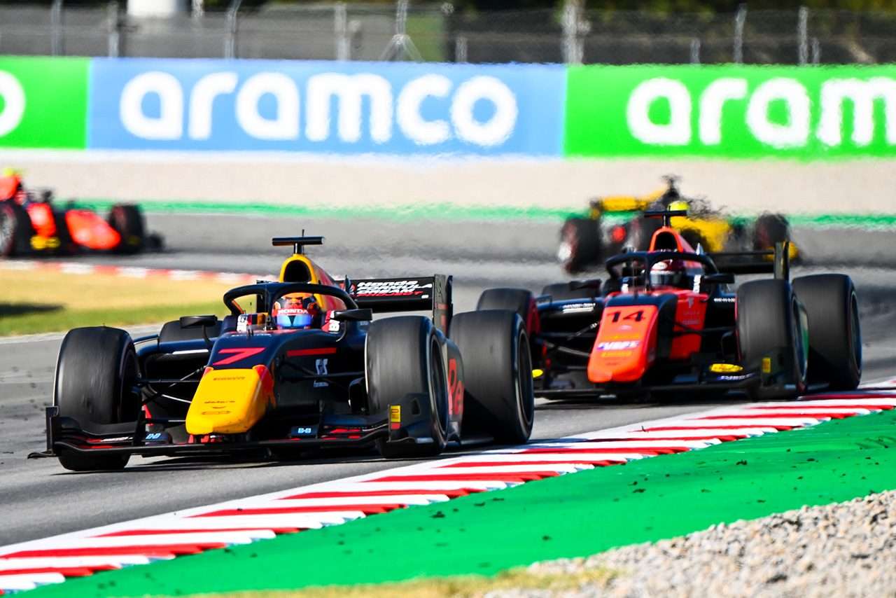 2020年FIA-F2第6戦スペイン レース1