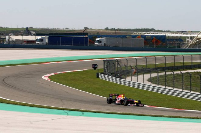 2011年F1第4戦トルコGP セバスチャン・ベッテル(レッドブル・レーシング)