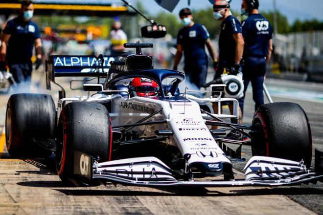 2020年F1第6戦スペインGP ダニール・クビアト(アルファタウリ・ホンダ)