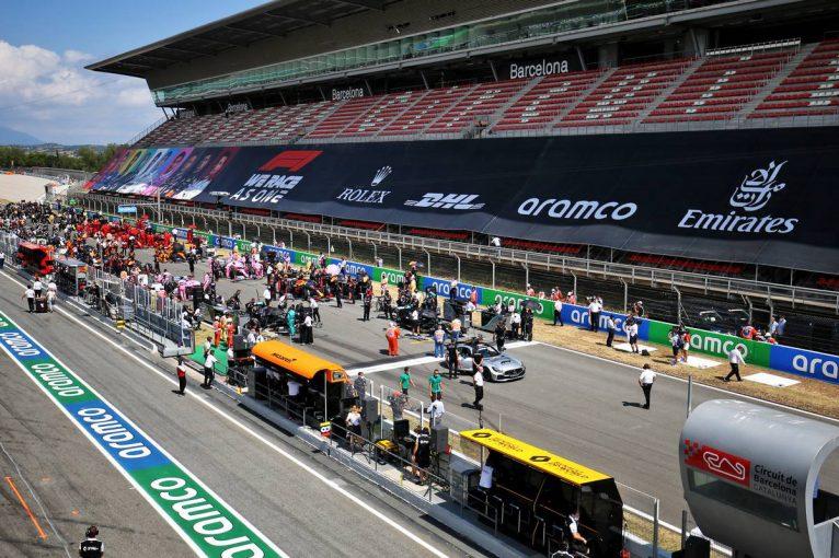 F1 | F1スペインGPは2年連続の無観客開催へ。移動制限などの措置の緩和に見通し立たず