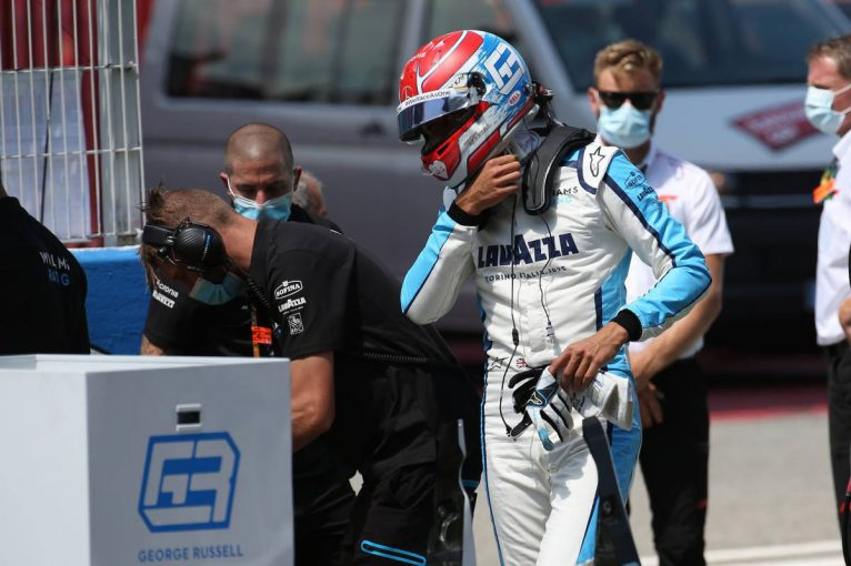 F1 | ラッセル「予想以上にいいレース。ライコネンとの競り合いは楽しかった」ウイリアムズ F1第6戦決勝
