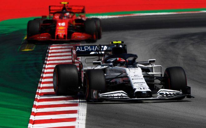 2020年F1第6戦スペインGP ピエール・ガスリー(アルファタウリ・ホンダ)