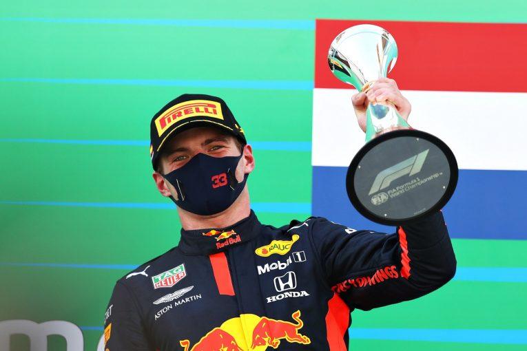 F1   フェルスタッペン2位「実力で勝つため改善し続けよう」怒りの無線の説明も:レッドブル・ホンダ【F1第6戦】