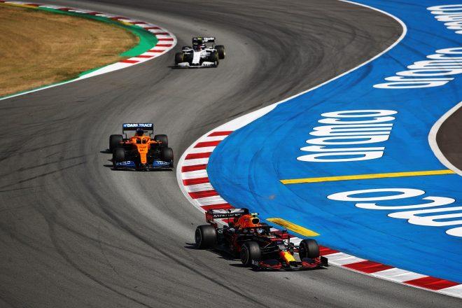 2020年F1第6戦スペインGP アレクサンダー・アルボン(レッドブル・ホンダ)