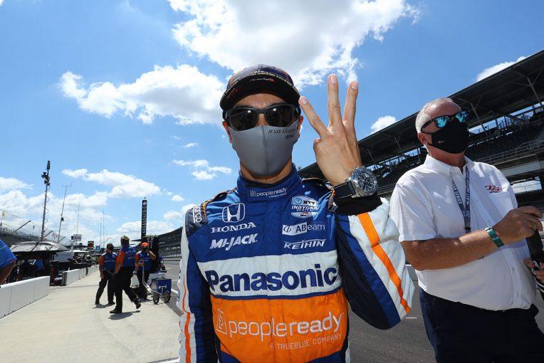 海外レース他 | 初のインディ500フロントロウを獲得した佐藤琢磨「本当にうれしい。チェックを重ねてきて出せたタイム」