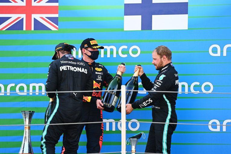 F1 | ボッタス3位「スタート失敗がすべて。フェルスタッペンから順位を取り戻せなかった」メルセデス【F1第6戦決勝】