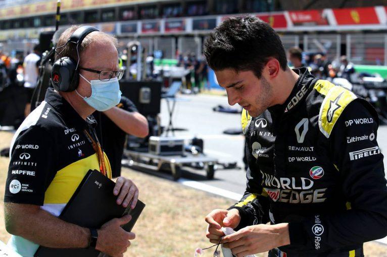 F1   オコン「クルマが望みどおりに挙動せず、グリップもバランスも欠けていた」:ルノー F1第6戦決勝