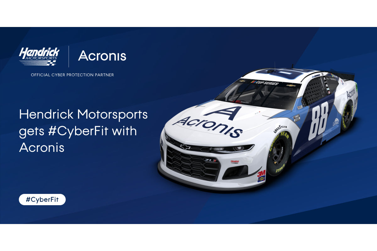 NASCAR:アクロニスとヘンドリック・モータースポーツが提携。2023年までの複数年契約