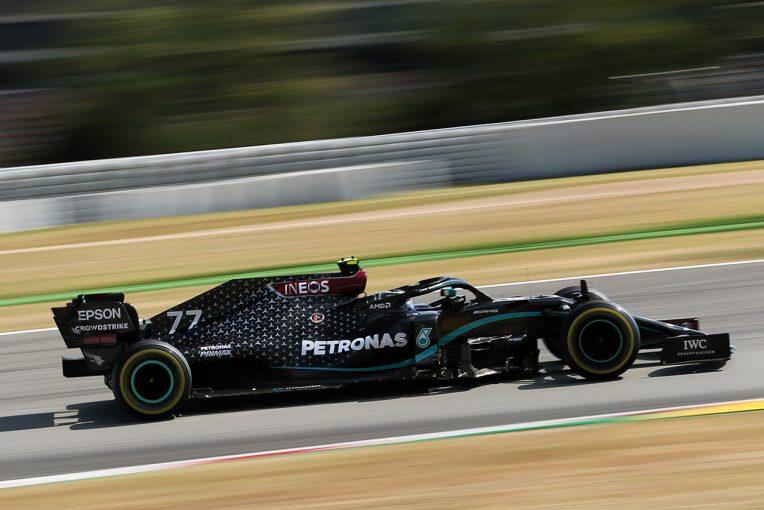 F1 | 「マシンのなかは本当に暑かった」ボッタス、F1スペインGPで体重3kg減。黒いスーツ&マシンが熱を吸収か