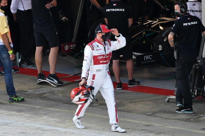 2020年F1第6戦スペインGP キミ・ライコネン(アルファロメオ)