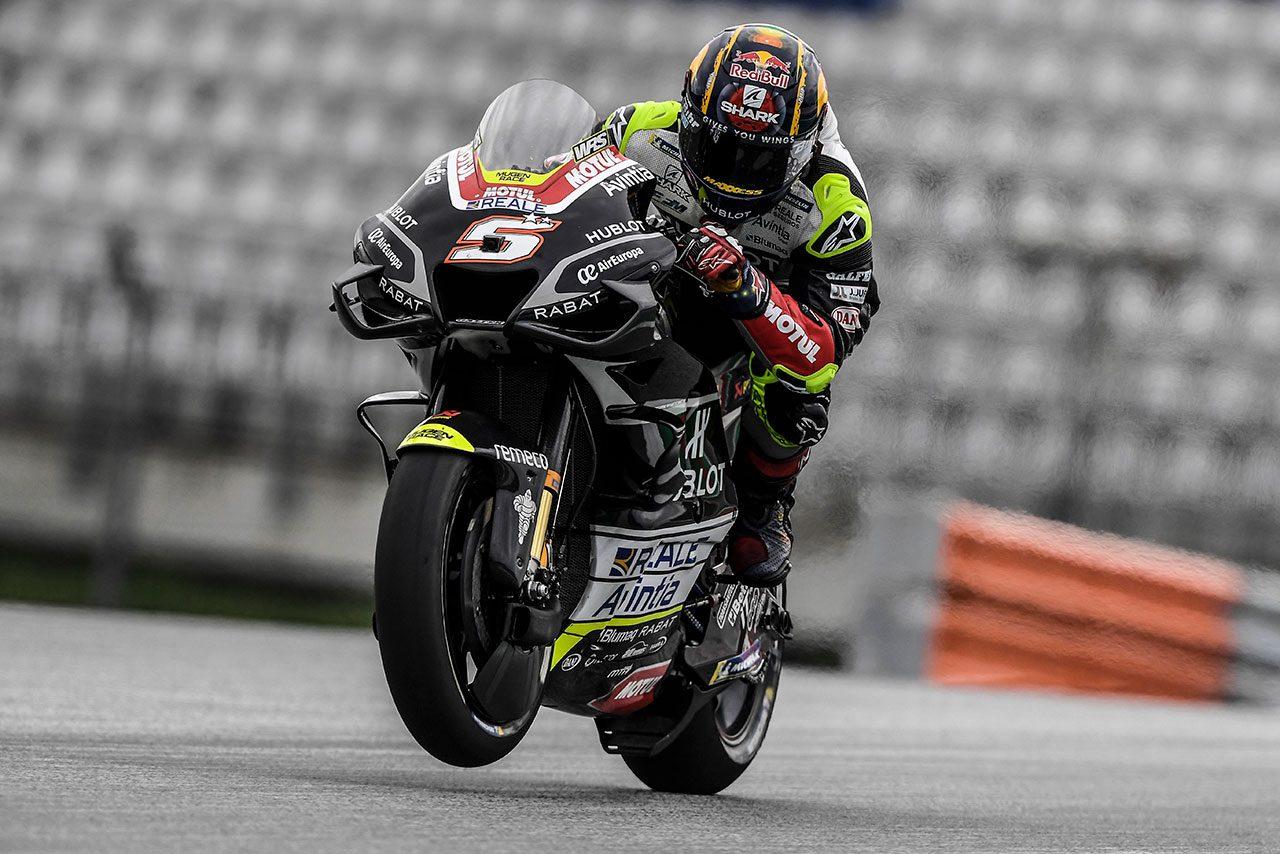 MotoGP:ヨハン・ザルコ、オーストリアGPでの大クラッシュで右手首骨折。手術を受けて第6戦の出場目指す