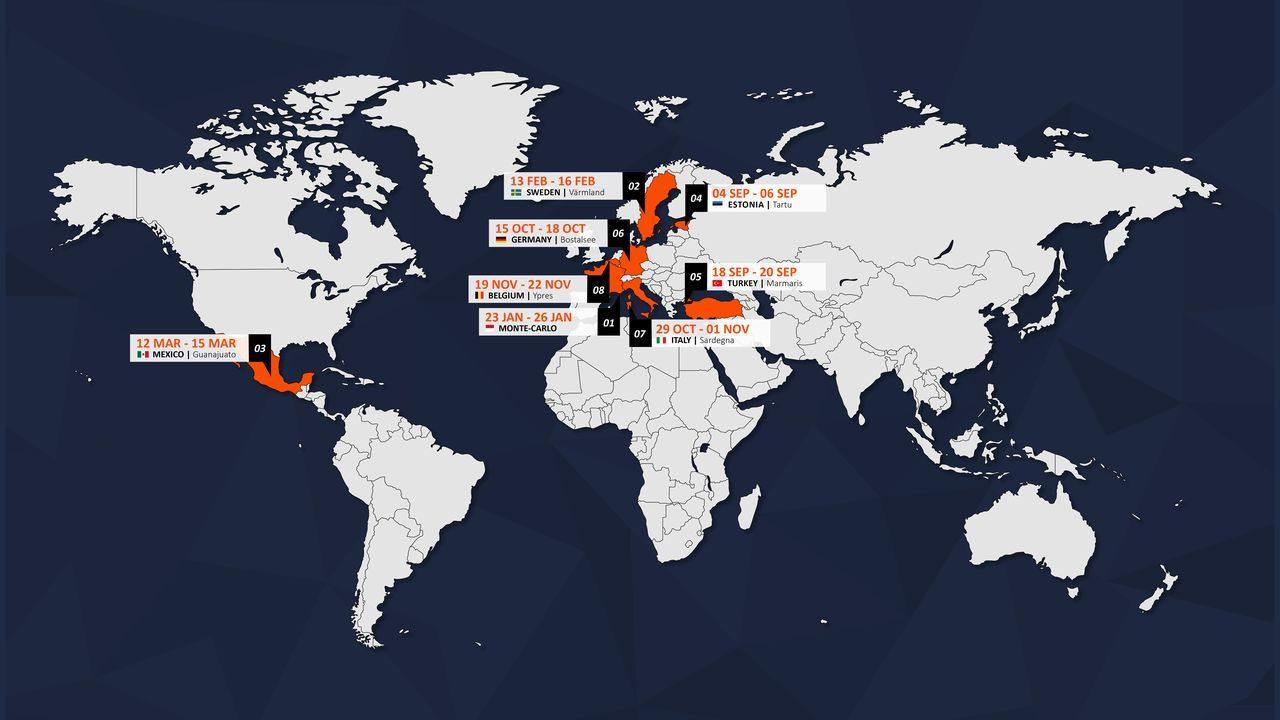 WRC:ラリージャパンの代替戦はベルギーに。改訂版2020年カレンダー発表
