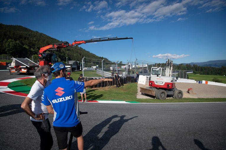 MotoGP | MotoGP:第5戦の大クラッシュを受けてレッドブルリンクの3コーナーにFIAが使用するエアフェンスなど設置