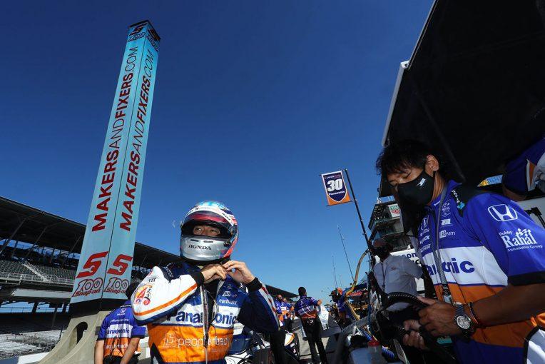 海外レース他 | 最終プラクティスを終えた佐藤琢磨。インディ500決勝のキーポイントは「暑さにどう対応していくか」