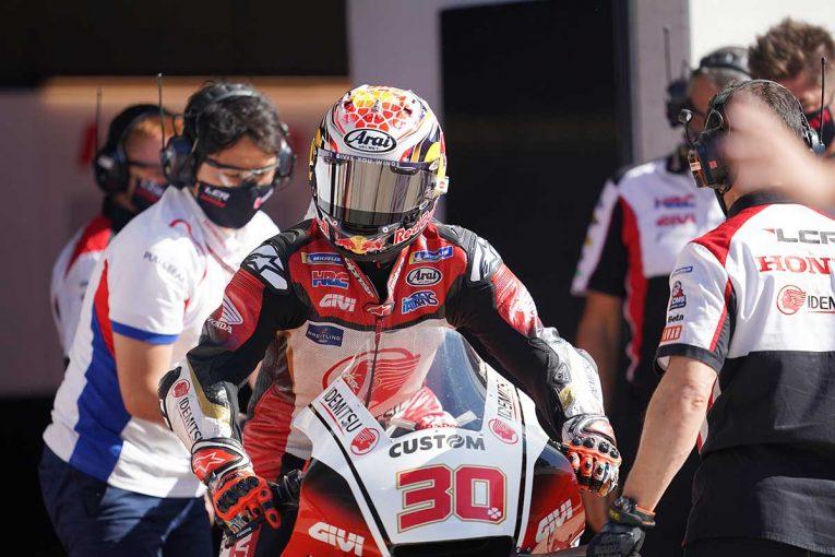 MotoGP   中上「コンディションの全く異なるセッションでもかなり安定した」/MotoGP第6戦初日コメント