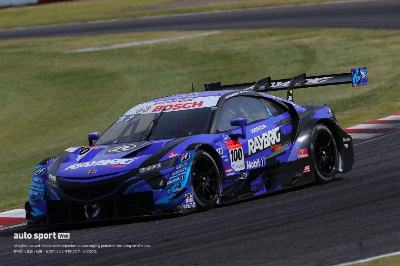 スーパーGT第3戦鈴鹿 2位RAYBRIG NSX-GT