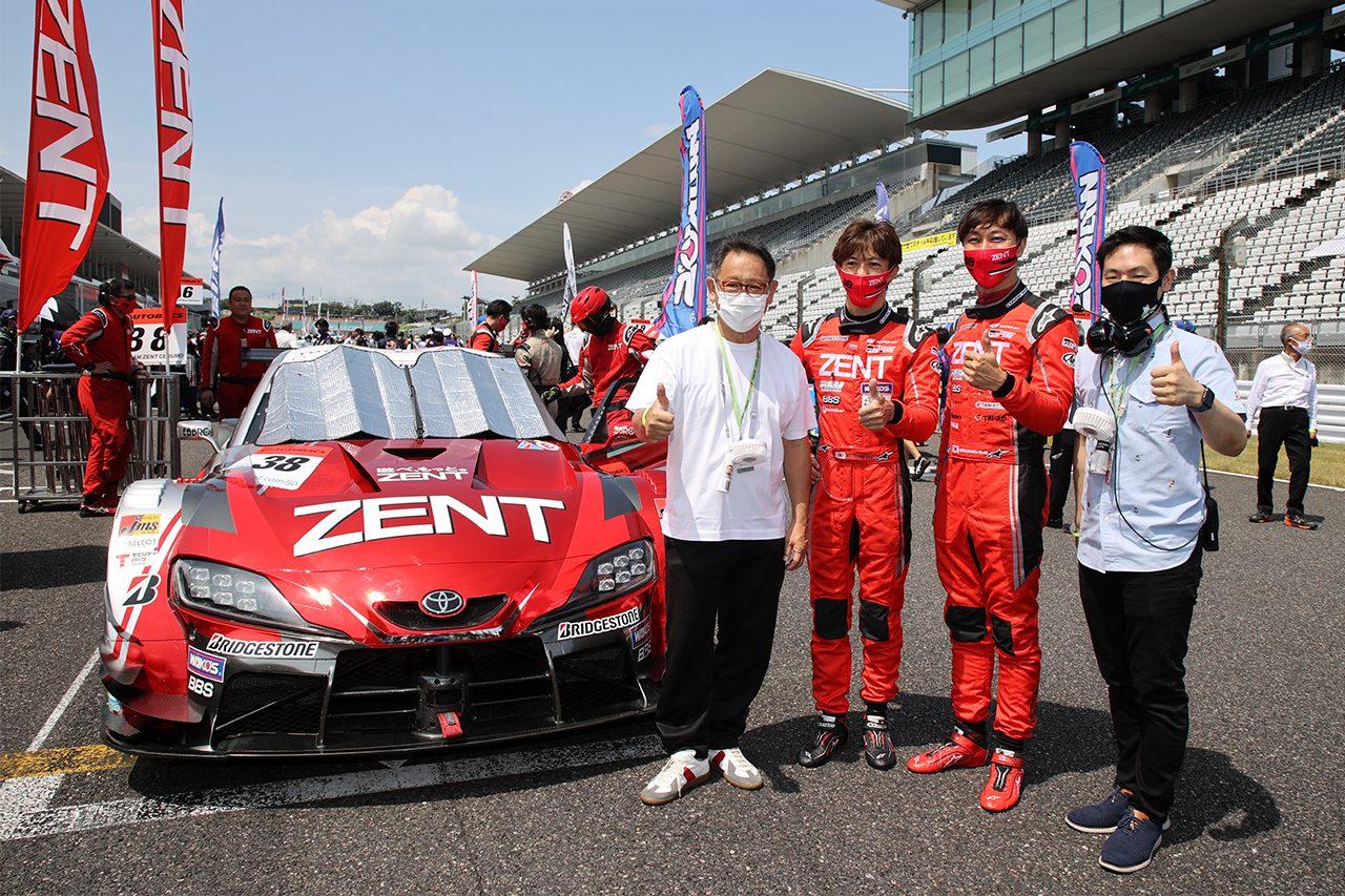 TGR TEAM ZENT CERUMO 2020スーパーGT第3戦鈴鹿 決勝レポート