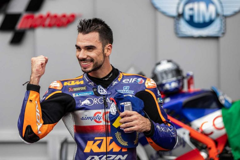 MotoGP   MotoGP第6戦:KTMのミゲール・オリベイラが初優勝の快挙。赤旗中断で中上の表彰台は幻に