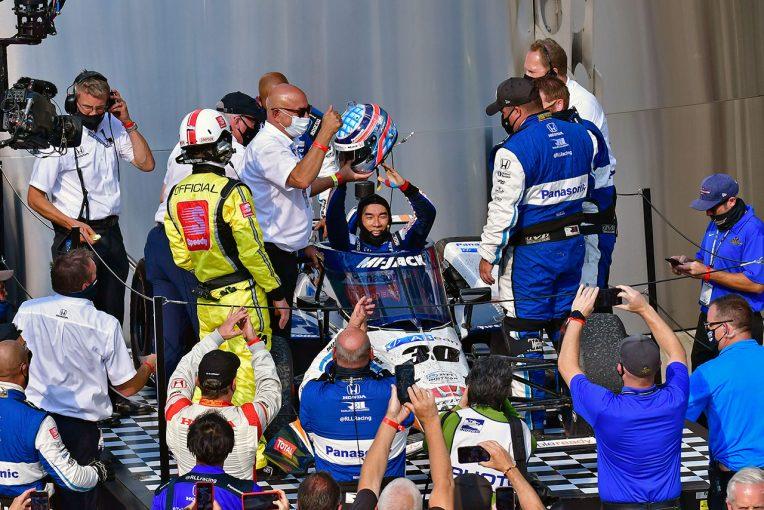 海外レース他 | インディ500勝利の佐藤琢磨をボビー・レイホールが大絶賛「息子もいい走りをしていたが、琢磨は2度目の制覇だ」
