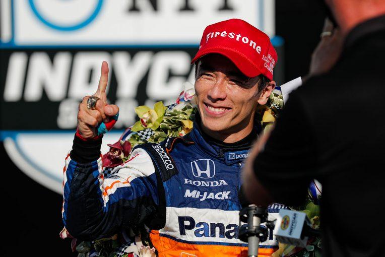 海外レース他   第104回インディ500詳報:無観客を忘れさせるスペクタルなバトル。勝負所を制した琢磨が2度目の栄冠