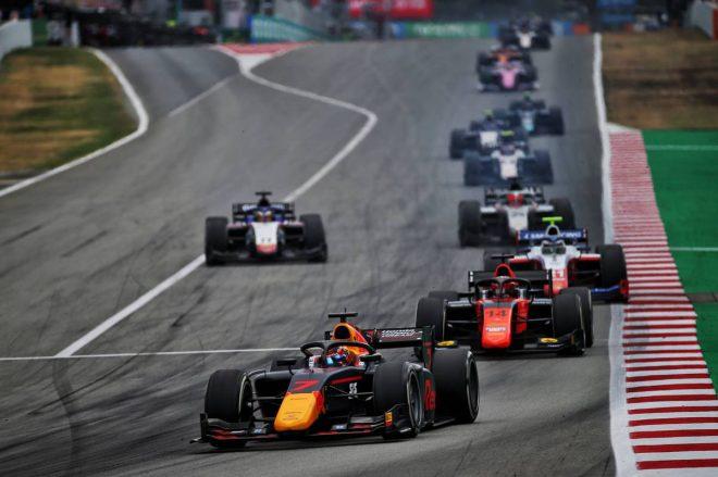 2020年FIA-F2第6戦スペイン レース2 角田裕毅(カーリン)