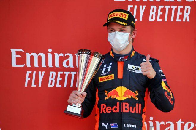 2020年FIA-F3第5戦イギリス レース1 リアム・ローソン(ハイテック)