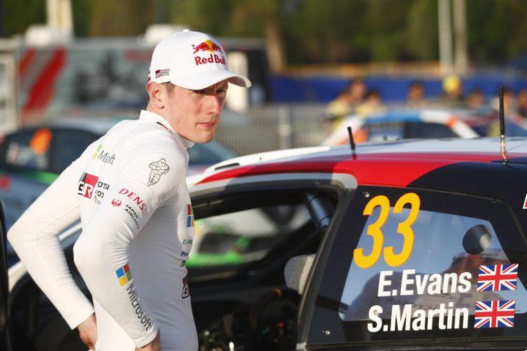 ラリー/WRC | トヨタのエルフィン・エバンス、大クラッシュも無傷。ヤリスWRCの安全性を称賛