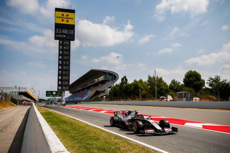 F1   【F1チームの戦い方:小松礼雄コラム第8回】想定外の速さから得た自信と、ハースのレース哲学が見えたスペインGP