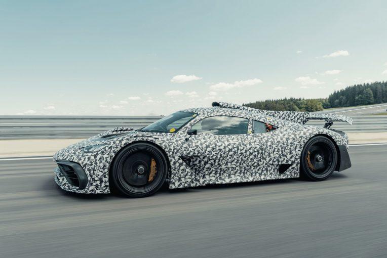 クルマ | メルセデスAMG、ハイパーカー『プロジェクト・ワン』のテストで1000馬力超を確認