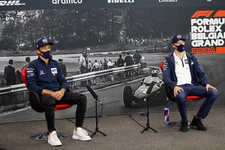 F1 | F1ベルギーGP木曜会見(1):「アントワーヌとの思い出は何千とある」ガスリー、ユベールとの寮生活を語る