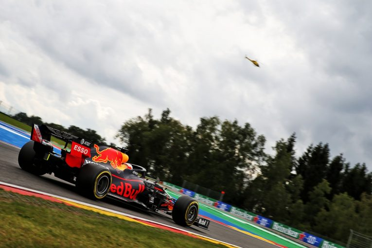 F1 | レッドブル・ホンダ分析:初日首位もフェルスタッペンは慎重。ダウンフォースを左右するリヤウイングに注目