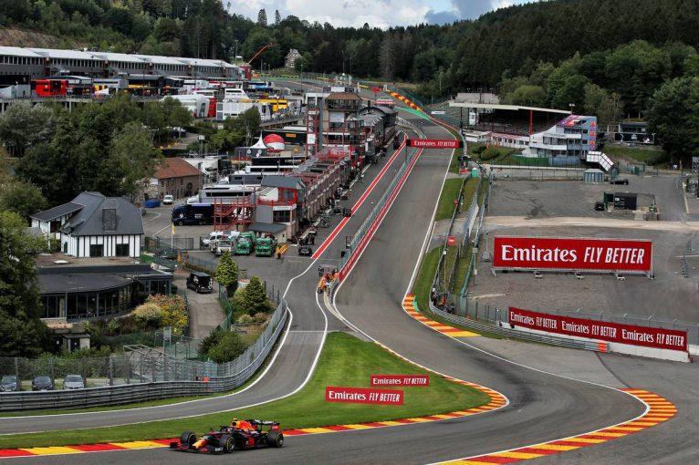 F1   フェラーリがまさかの最下位。首位はハミルトン【タイム結果】F1第7戦ベルギーGPフリー走行3回目