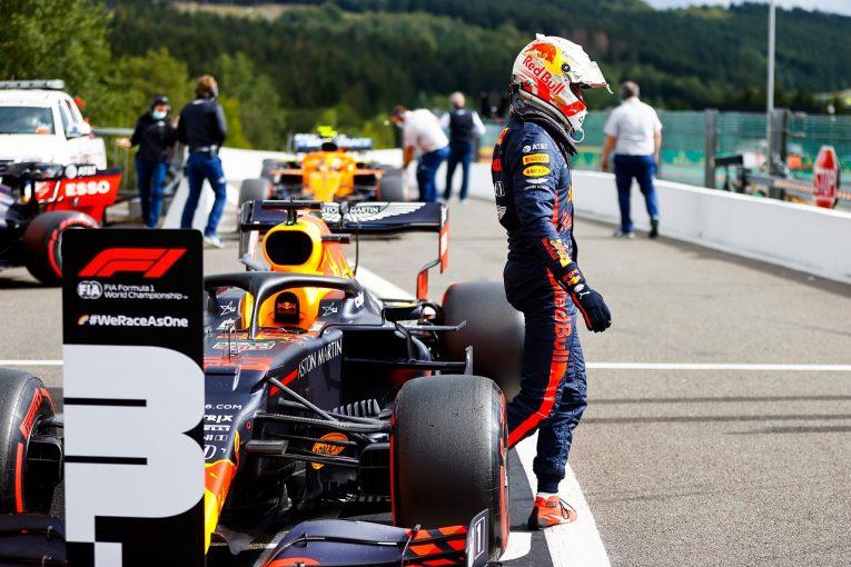 F1 | ホンダ田辺TD「0.015秒差の3番手は悪くない。PU特別モードを使う最後の予選をスムーズに戦った」【F1第7戦】