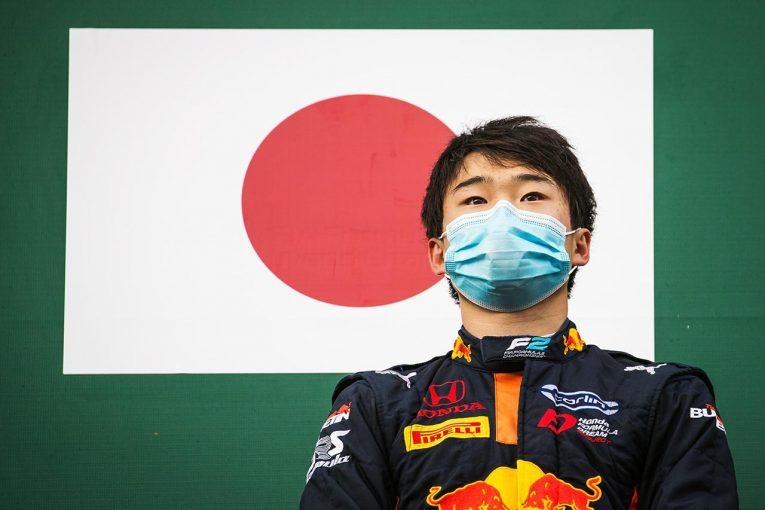 海外レース他 | 【速報】角田裕毅がフィーチャーレース初制覇で2勝目/FIA-F2第7戦ベルギー レース1