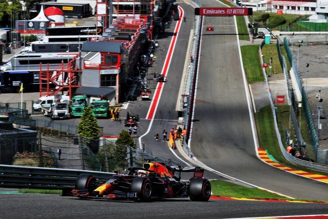 2020年F1第7戦ベルギーGP マックス・フェルスタッペン(レッドブル・ホンダ)