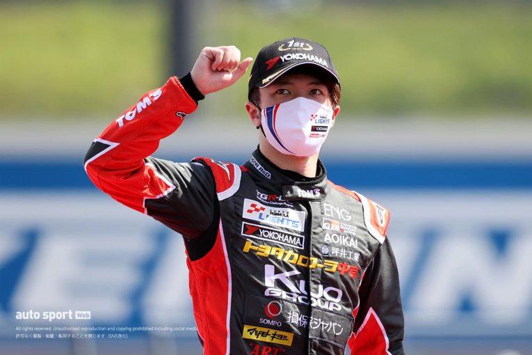 国内レース他   スーパーフォーミュラ・ライツ:宮田莉朋がポール・トゥ・ウインで開幕2連勝を飾る