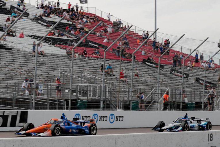 海外レース他 | インディカー第8戦ゲートウェイ詳報:琢磨の猛チャージ届かず、ディクソンが今季4勝目