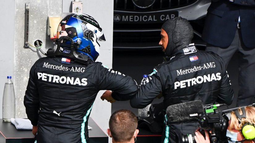 F1 | ボッタス「ポールを逃しても問題ない。2番手スタートが有利になるかも」メルセデス【F1第7戦予選】