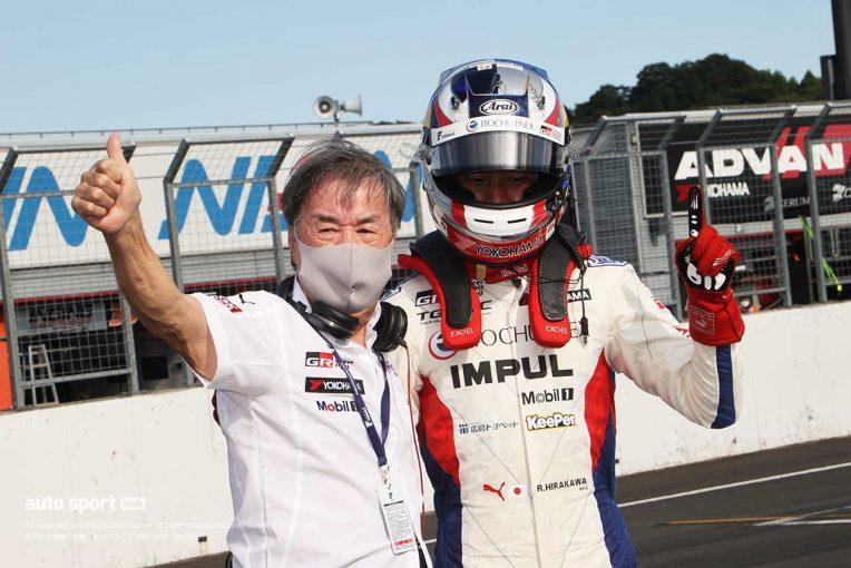 スーパーフォーミュラ | 平川亮、得意とするもてぎでの勝利も「次に向けてロングランの課題が残る」【第1戦決勝トップ3会見】