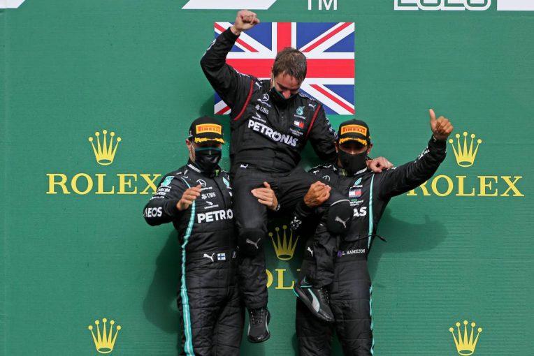 F1 | ハミルトンが完勝で通算89勝目を挙げる。フェルスタッペンは及ばず3位【決勝レポート/F1第ベルギーGP】