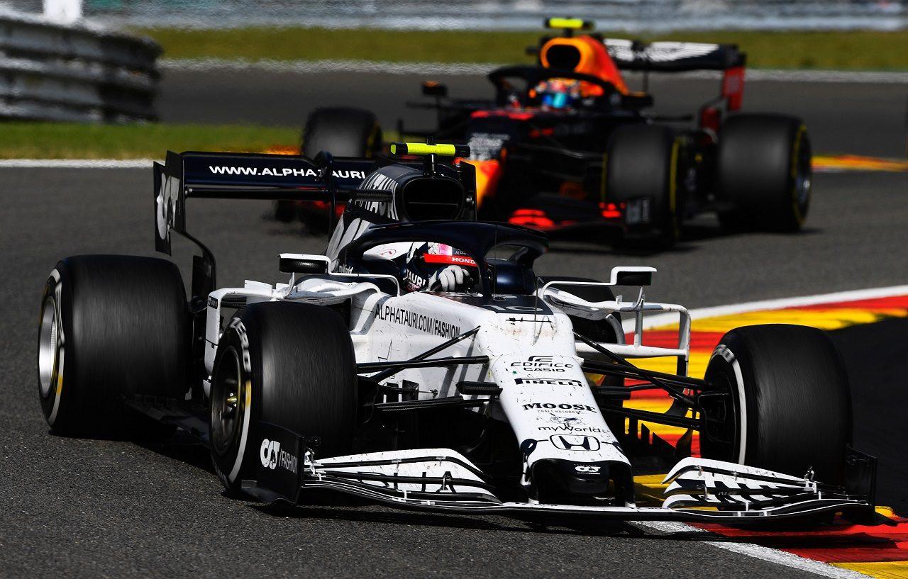 2020年F1第7戦ベルギーGP ピエール・ガスリー(アルファタウリ・ホンダ)が8位を獲得