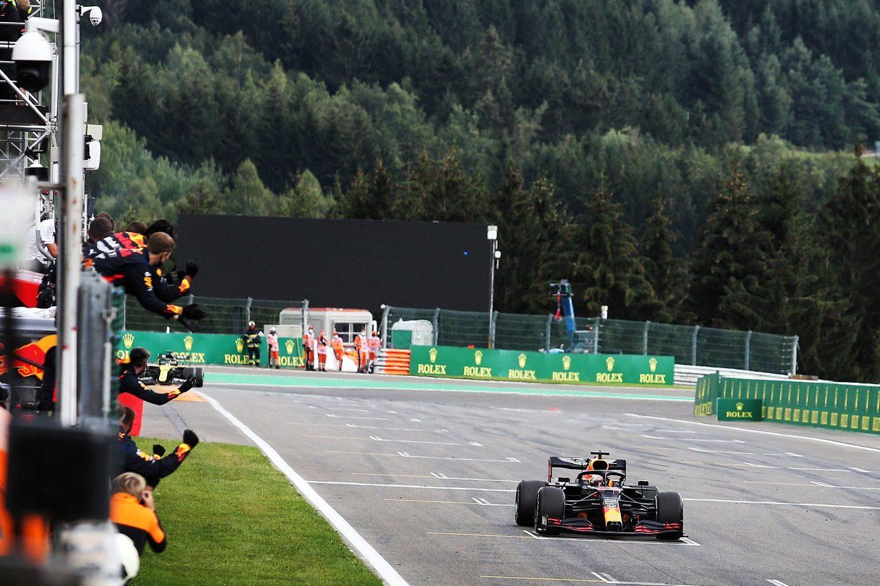 2020年F1第7戦ベルギーGP マックス・フェルスタッペン(レッドブル・ホンダ)が3位でフィニッシュ