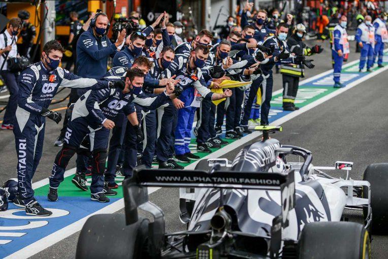 F1   ピレリ、1ピットストップで8位のガスリーを称賛「ユニークな戦略で素晴らしいペースを示した」
