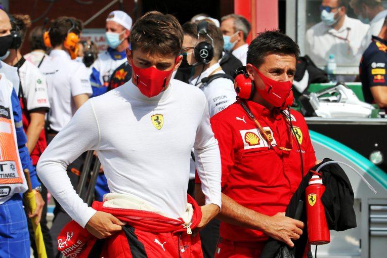 F1 | ルクレール、ペース不足とトラブルに苦しみ14位「DRSを使っても抜けなかった」フェラーリ【F1第7戦】